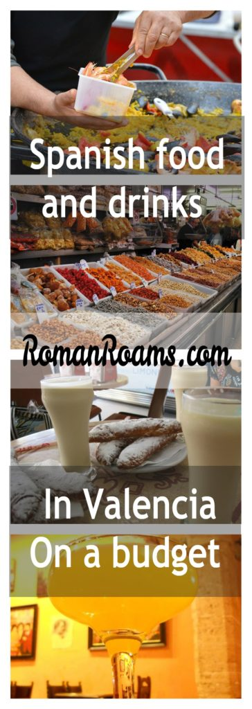 Spanish food and drinks in Valencia on a budget