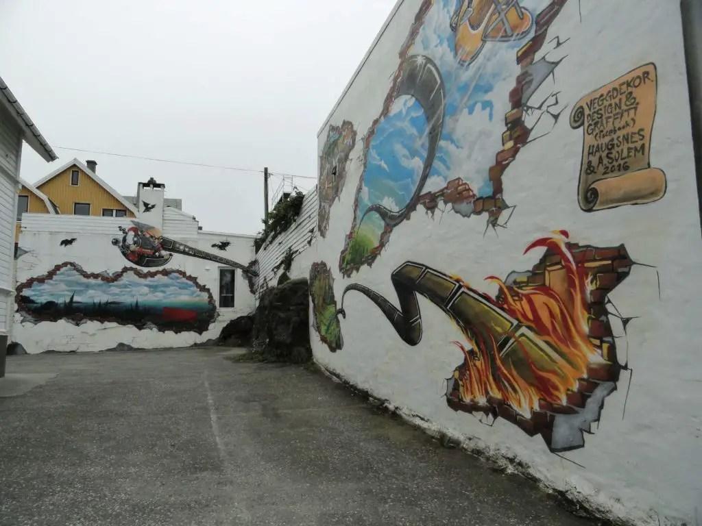 Crazy Haugesund graffiti
