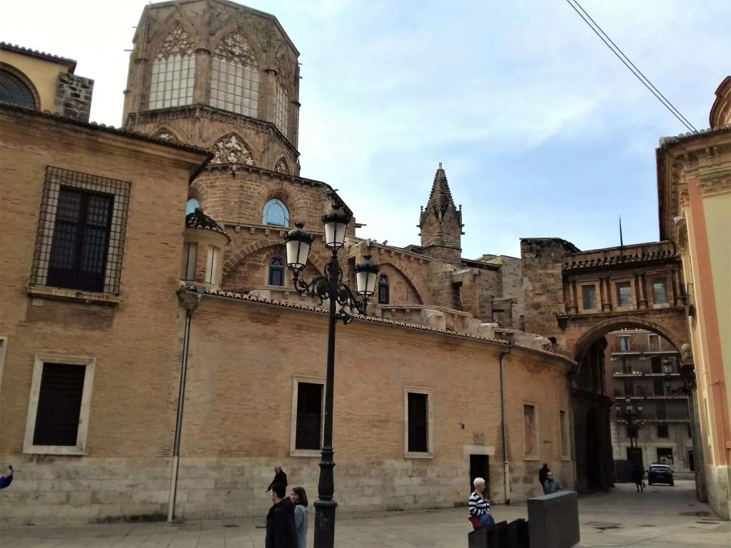 Башня в старом городе Валенсии