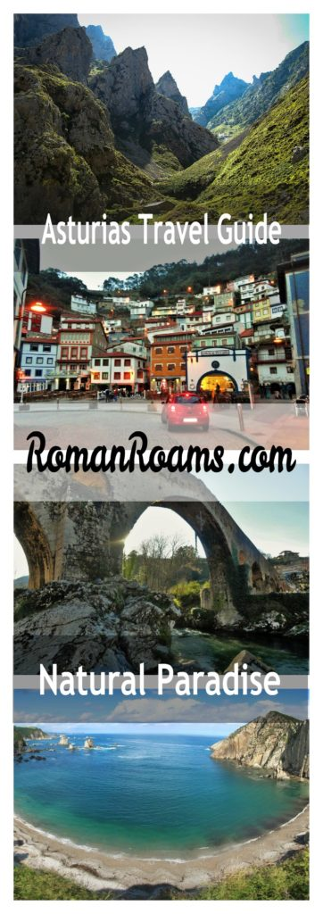 Travel guide to Asturias collage
