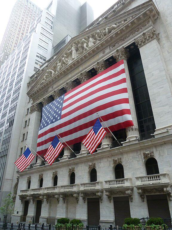 Wall Street and NYC Stock Exchange