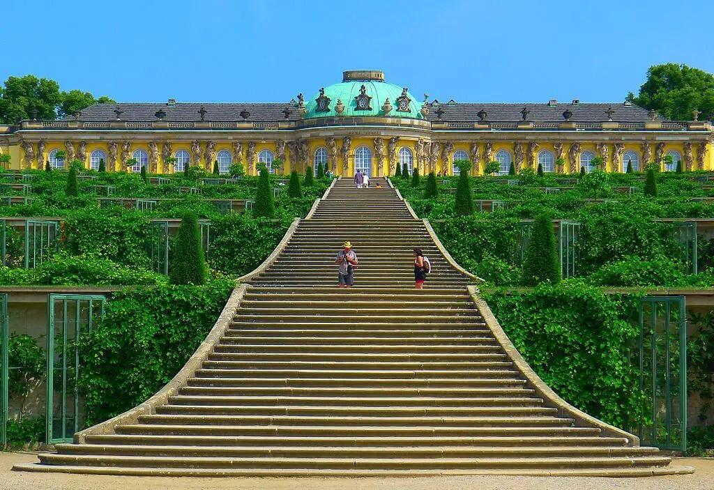 San Souci Palace in Potsdam