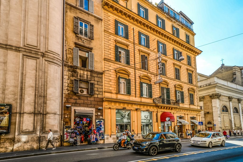 Hotel, Prices in Rome