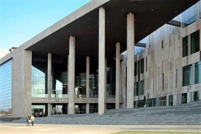 Budapest palace of arts entrance