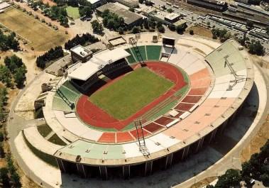Budapest national football stadium