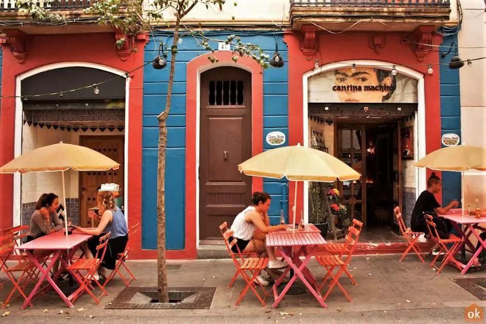 Bar cantina Machiso in Garcia, Barcelona