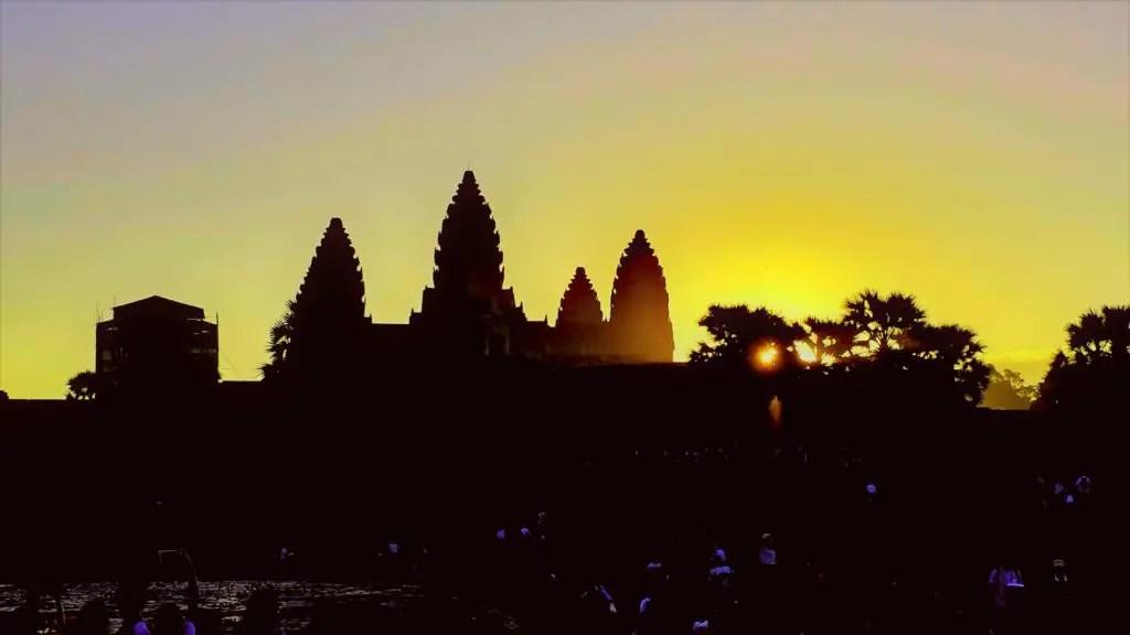 Sunrise at Angkor Wat, Cambodia travel guide
