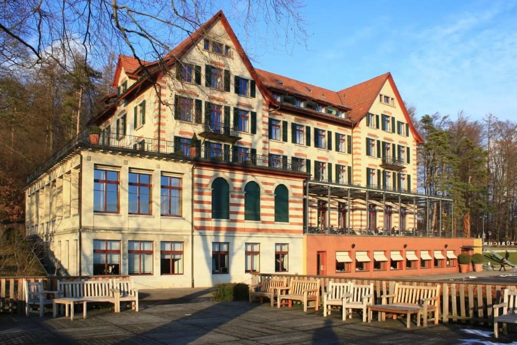 Zurichberg hotel in Zurich, cheap stay and accommodation