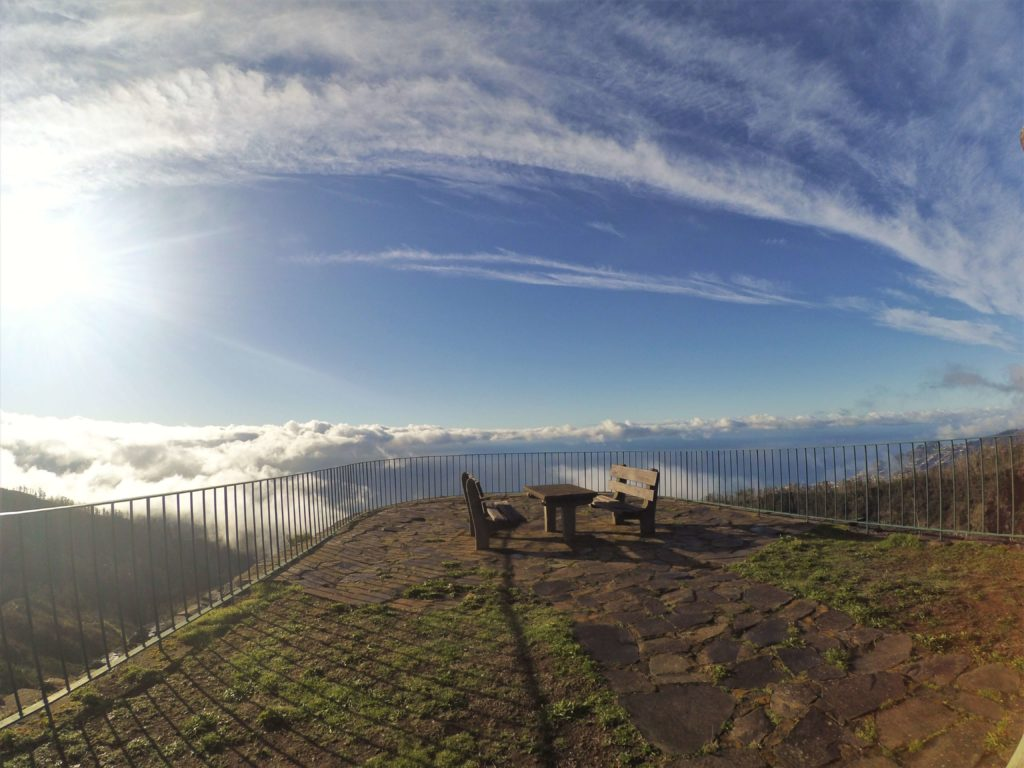 Seats in the sky in Madeira