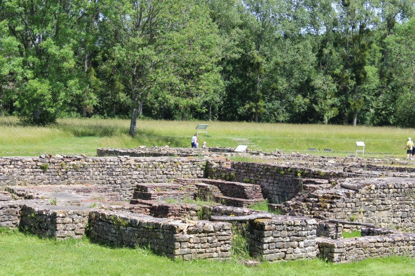 The women's baths at Fontaines Sallees