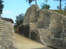 Augst theatre stonework