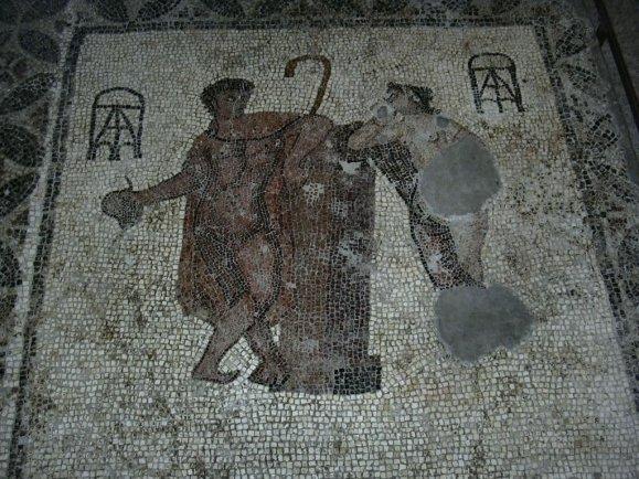 Girona museum - mosaic