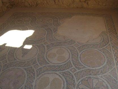 Masada Byzantine church mosaic