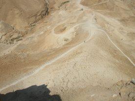 Masada Roman siege ramp
