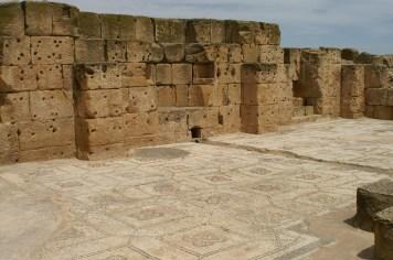Oudna capitol mosaic