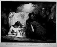 The Infant Shakespeare Attended by Nature and the Passions
