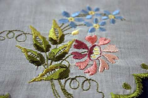 1821 Scalloped Floral Border