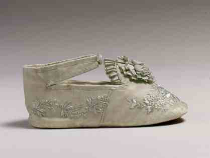 Mid-19th c baby shoes (Met C.I.40.68.9 a, b)