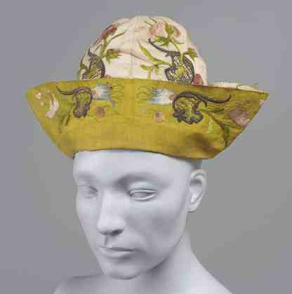 Mid-18th c. mans cap