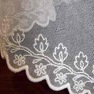 Embroidered veil detail