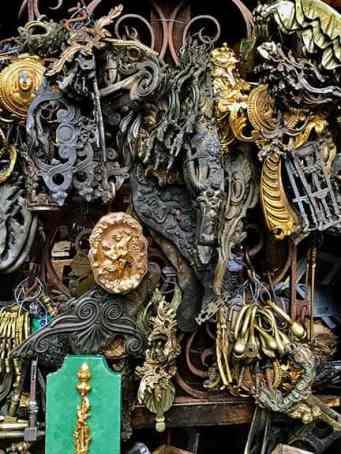Paris Flea Market Ironwork
