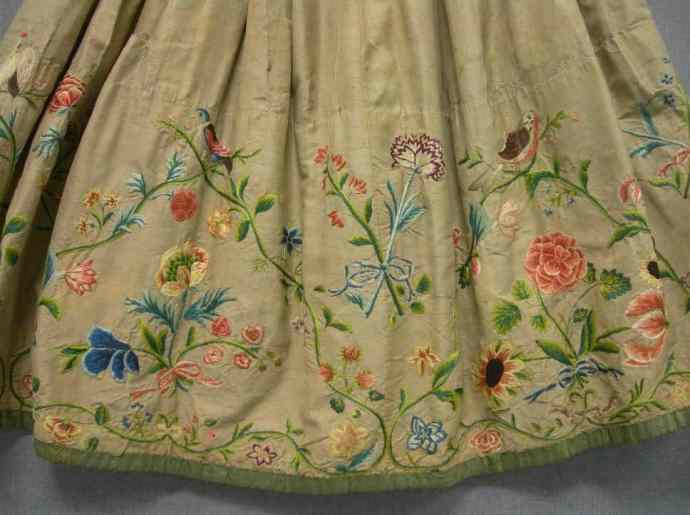 Mid-18th c petticoat