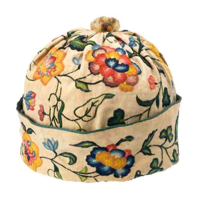 Early 18th c man's cap