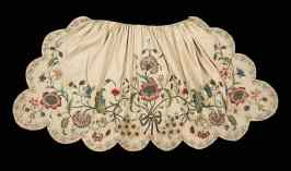 Mid-18th c apron