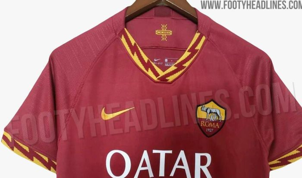 quality design cd4ca 78290 Roma's 2019/2020 home shirt leaked - RomaPress.net