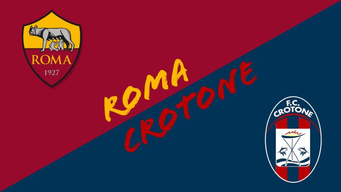 Crotone-Roma, the probable formations - RomaPress.net