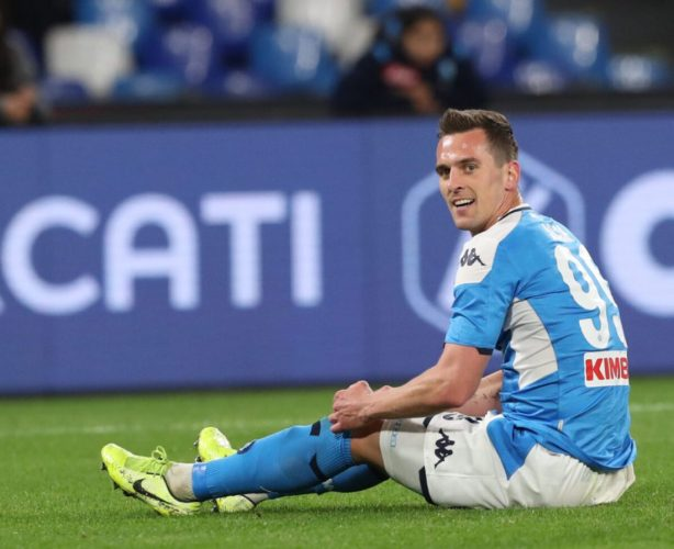 Roma growing in confidence for Milik - RomaPress.net