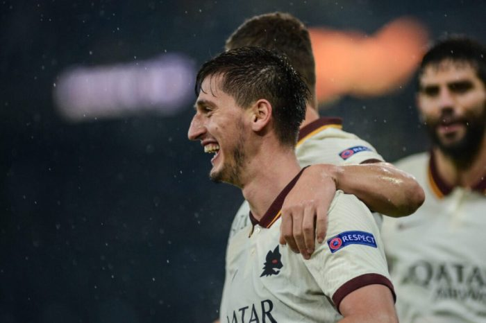 Roma 2 1 Young Boys Kumbulla I M Glad To Have Scored The Winning Goal But I M Happier That We Won Romapress Net