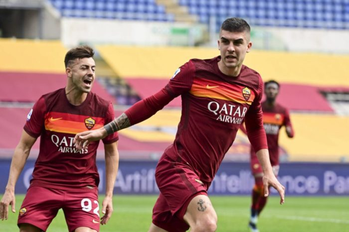 """Roma defeat Genoa 1-0, defender Gianluca Mancini: """"The most important thing  was to win."""" - RomaPress.net"""
