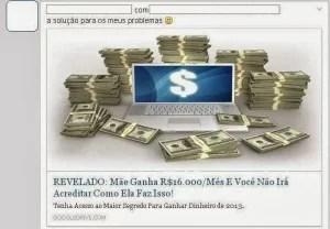 Virus no Facebook