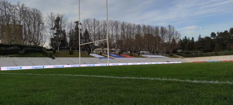 Pantalla LED en torneo rugby 7s