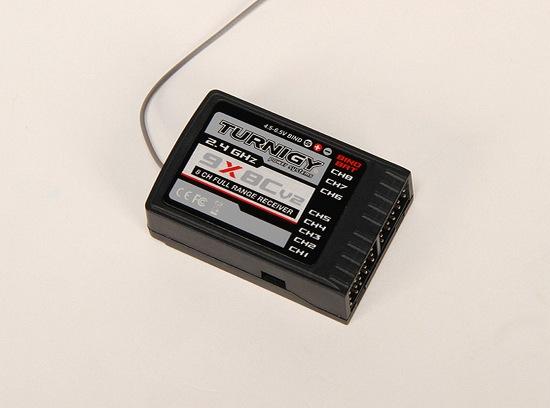 Recepteur Turnigy 8 Voies 9x 2 4 Ghz