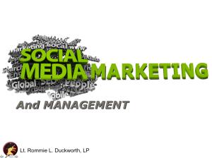 Social Media Marketing and Managment