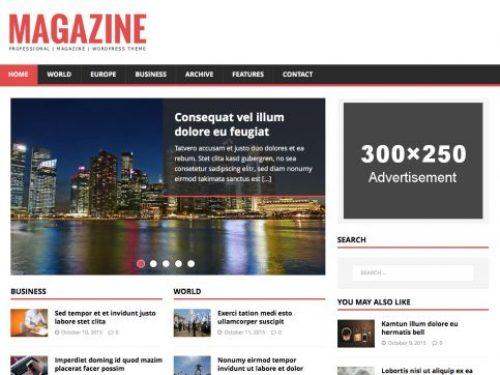 MH News Magazine WP Theme