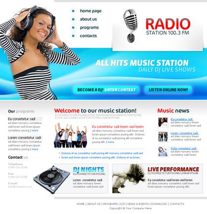 radio online template2