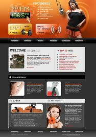 radio online template3