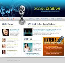 radio online template5