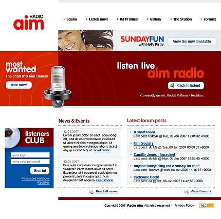 radio online template9