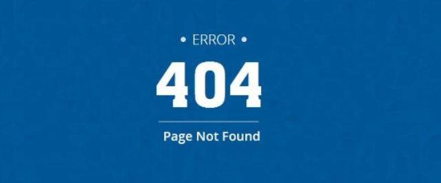 mengatasi error 404