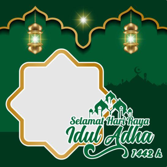 Twibbon Idul Adha 2021: Desain Ucapan Selamat Idul Adha 1442 H