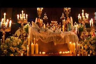Image result for romeo and juliet tomb scene