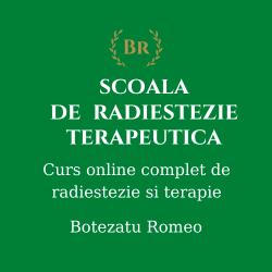 Radiestezie Terapeutica-  Curs Integral