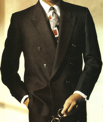 Double Breasted Suit by a custom tailor based in Bangkok