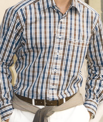 Shirt by a custom tailor based in Bangkok