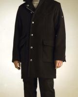 Men's overcoat by a custom tailor based in Bangkok, Thailand