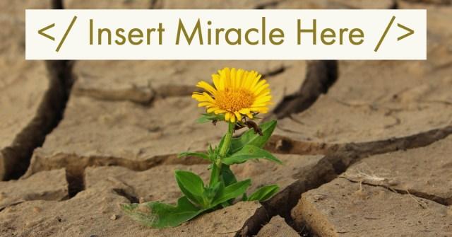 Insert Miracle
